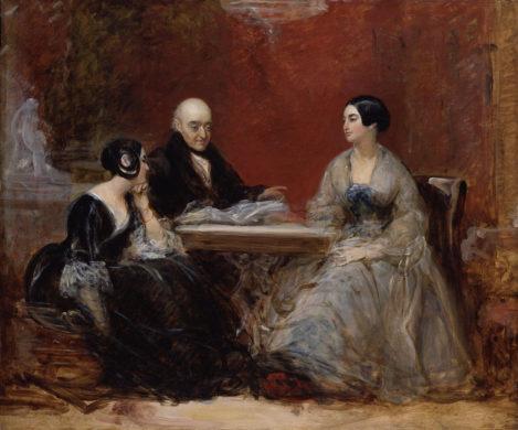 Le parfum sur les femmes du 19ème siècle