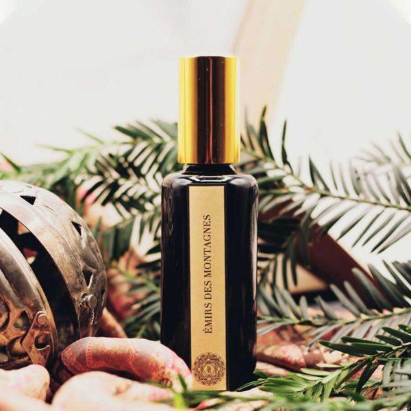 Émirs de Montagnes - Parfum Naturel Cèdre et Encens