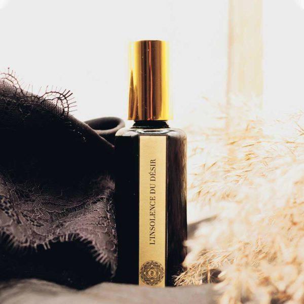 Insolence du Désir - Parfum Naturel Chypré et Patchouli