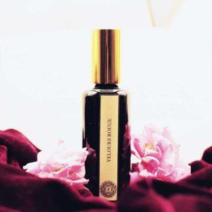 Velours Rouge - Parfum Naturel Rose et Pivoine