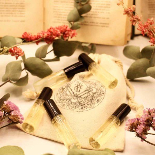 Coffret parfums 100% naturel Sauvage