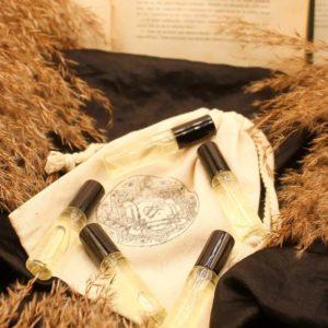 Coffret parfums 100% naturel Sensuel